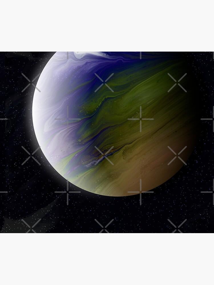 Planet Zeta: Outer Space Art by kerravonsen