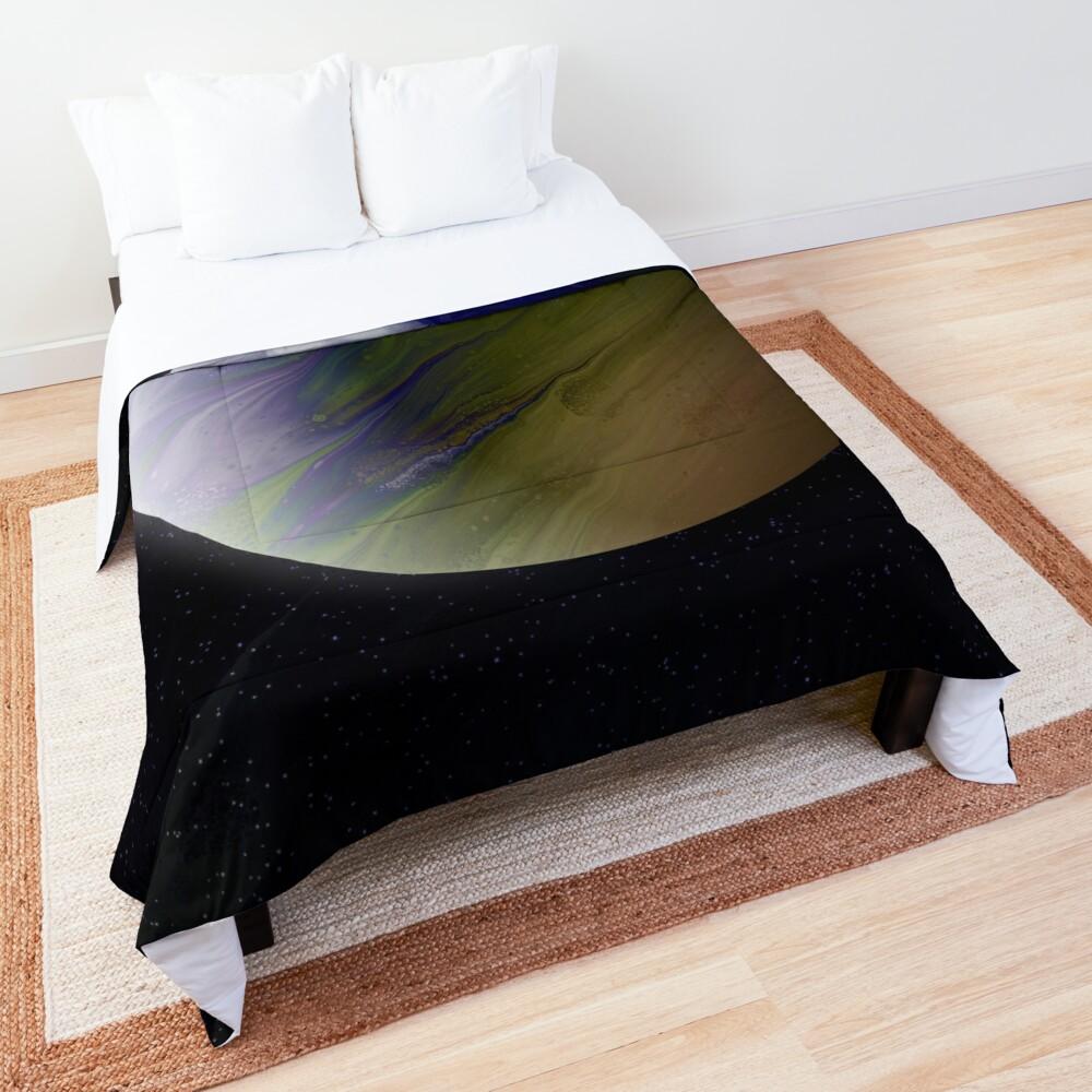 Planet Zeta: Outer Space Art Comforter