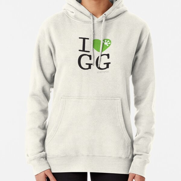 I love GG Pullover Hoodie