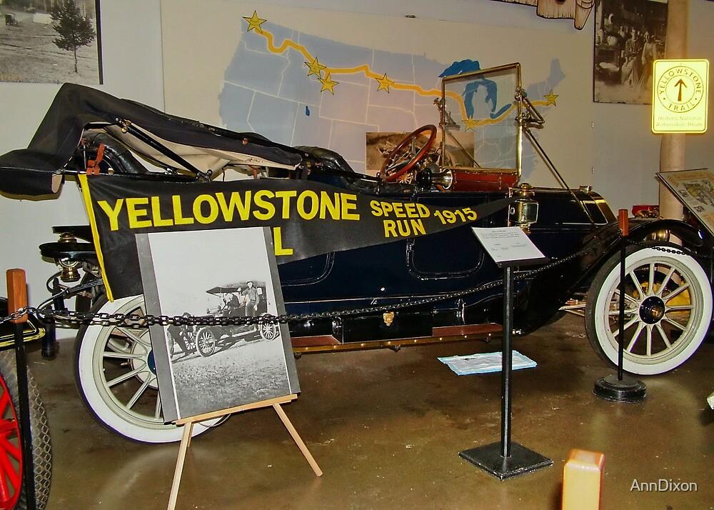 Yellowstone Speed Run 1915 by AnnDixon