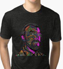 Psychedelic krieger Tri-blend T-Shirt