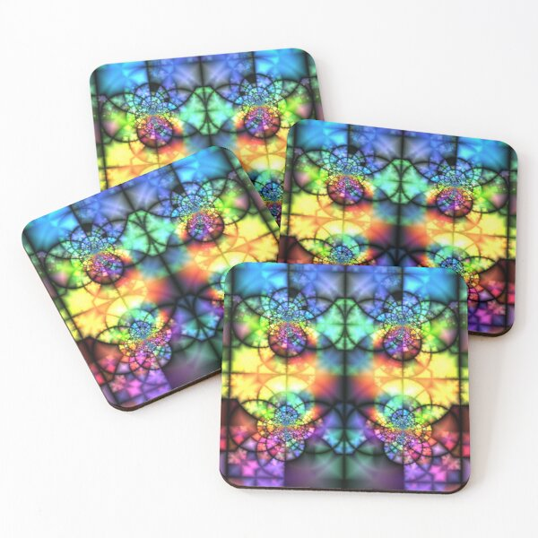 Rogues Gallery 46 Coasters (Set of 4)