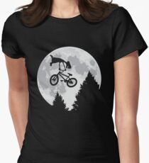 Cool E.T. Womens Fitted T-Shirt