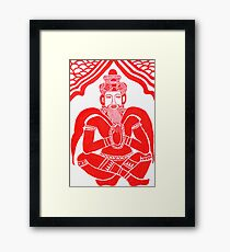 CREATOR AND DESTROYER OF THE WORLD by Thou Framed Print