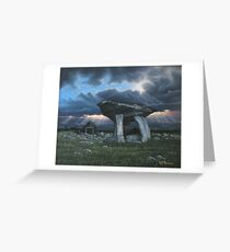 KILCLOONEY DOLMEN Co. DONEGAL  Greeting Card