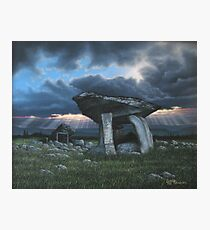 KILCLOONEY DOLMEN Co. DONEGAL  Photographic Print
