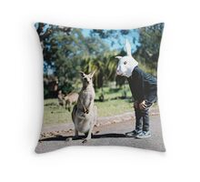 """So....Come Here Often?"" Throw Pillow"
