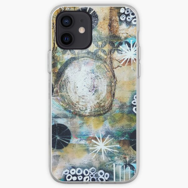 Circles of friends IV iPhone Soft Case