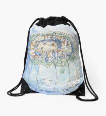 The Planet City Drawstring Bag