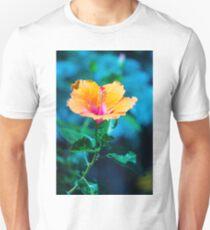Orange flower Unisex T-Shirt