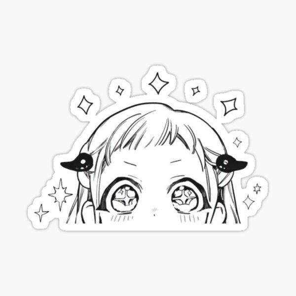 Jibaku Shounen Hanako-kun - Toilette attachée Hanako-kun Sticker