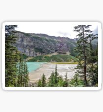 Lake Louise, Banff National Park, Canadian Rockies Sticker