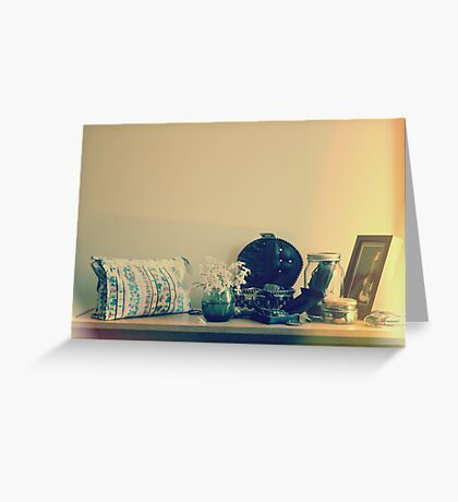 collections  Greeting Card