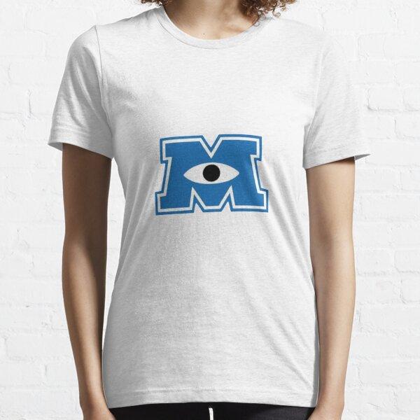 Logotipo de Monsters Inc Camiseta esencial
