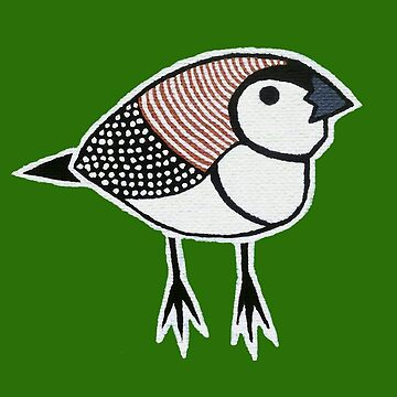 Double Barred Finch by Vinko