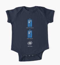 8-Bit Tardis - Doctor Who Shirt Kids Clothes