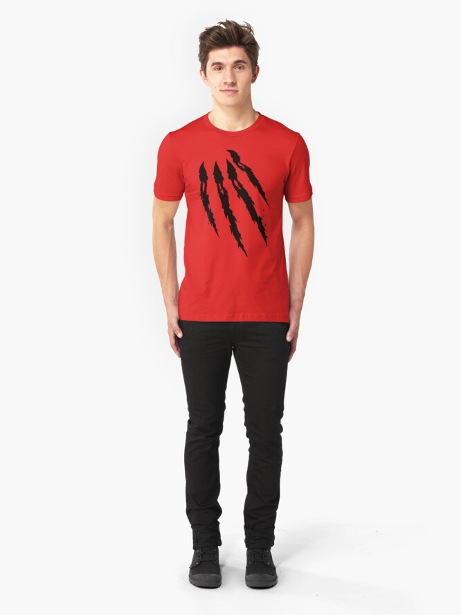 Alternate view of Something to sink your Claws into! Slim Fit T-Shirt
