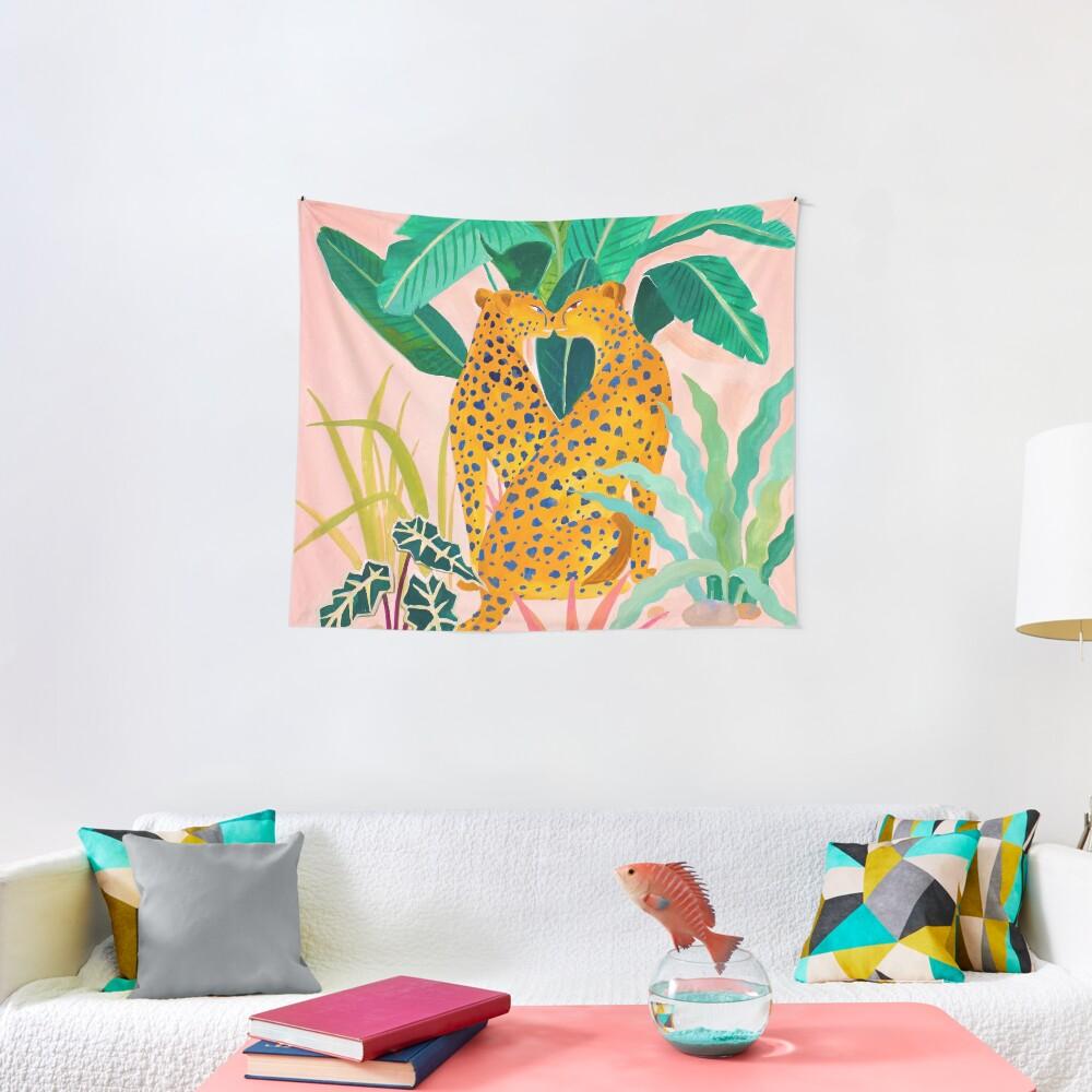 Cheetah Crush Tapestry