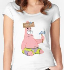 Patrick Star Women's Fitted Scoop T-Shirt
