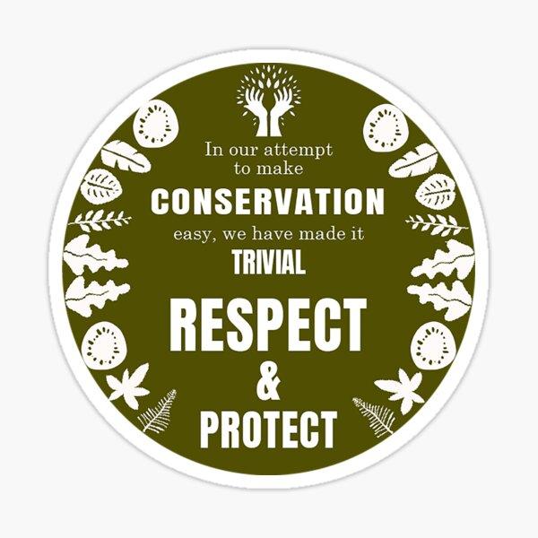 Aldo leopold Gifts - Aldo leopold Shirt - Aldo leopold Mug - Aldo leopold Conservation- Nature Gifts Sticker