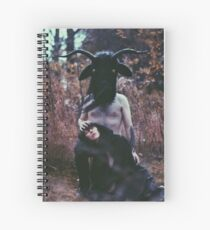 Piper At The Gates Spiral Notebook