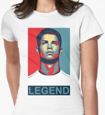 Ronaldo Womens Fitted T-Shirt