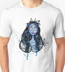 Watercolor Corpse Bride T-Shirt