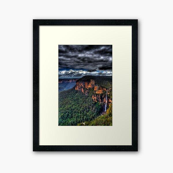 Bridal Veil Falls Framed Art Print