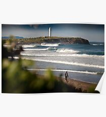 Wollongong City Beach Poster
