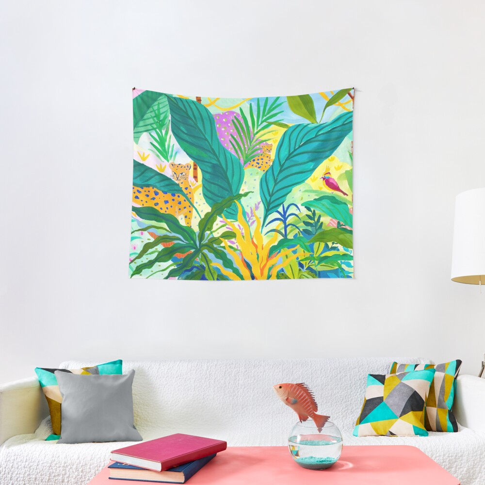 Paradise Jungle Tapestry