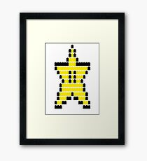 Mario Star Item Framed Print