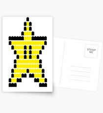 Mario Star Item Postcards