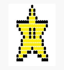 Mario Star Item Photographic Print