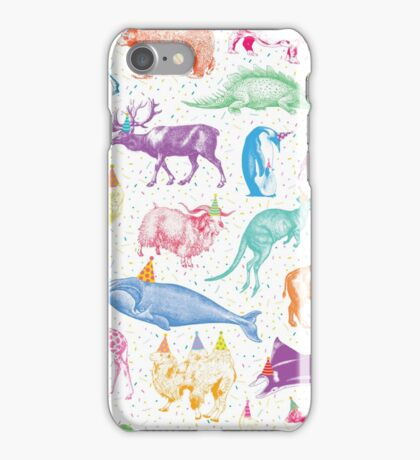 Party Animals iPhone Case/Skin
