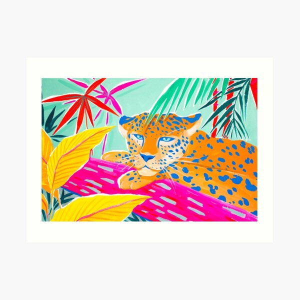 Vibrant Jungle Art Print