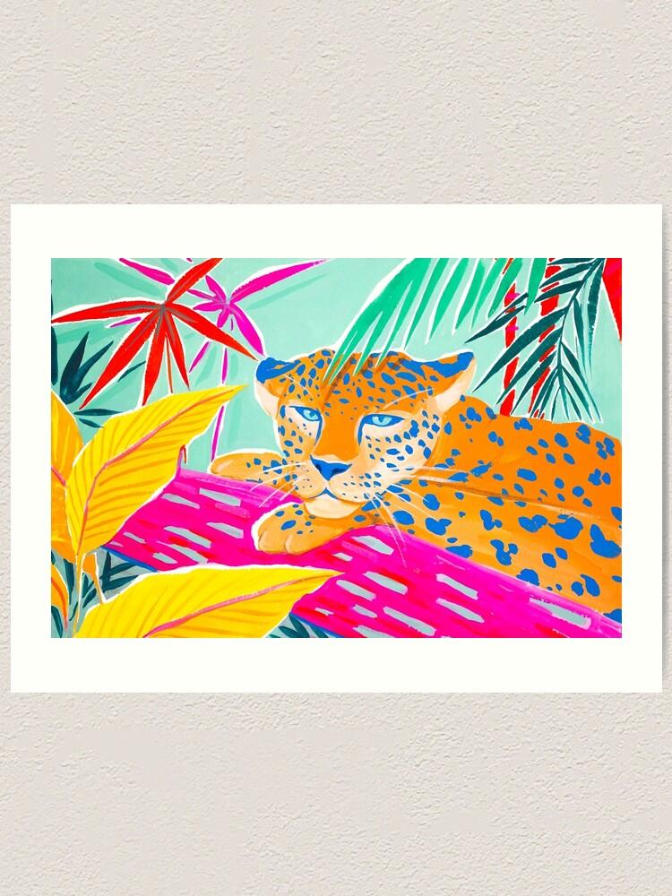 Alternate view of Vibrant Jungle Art Print