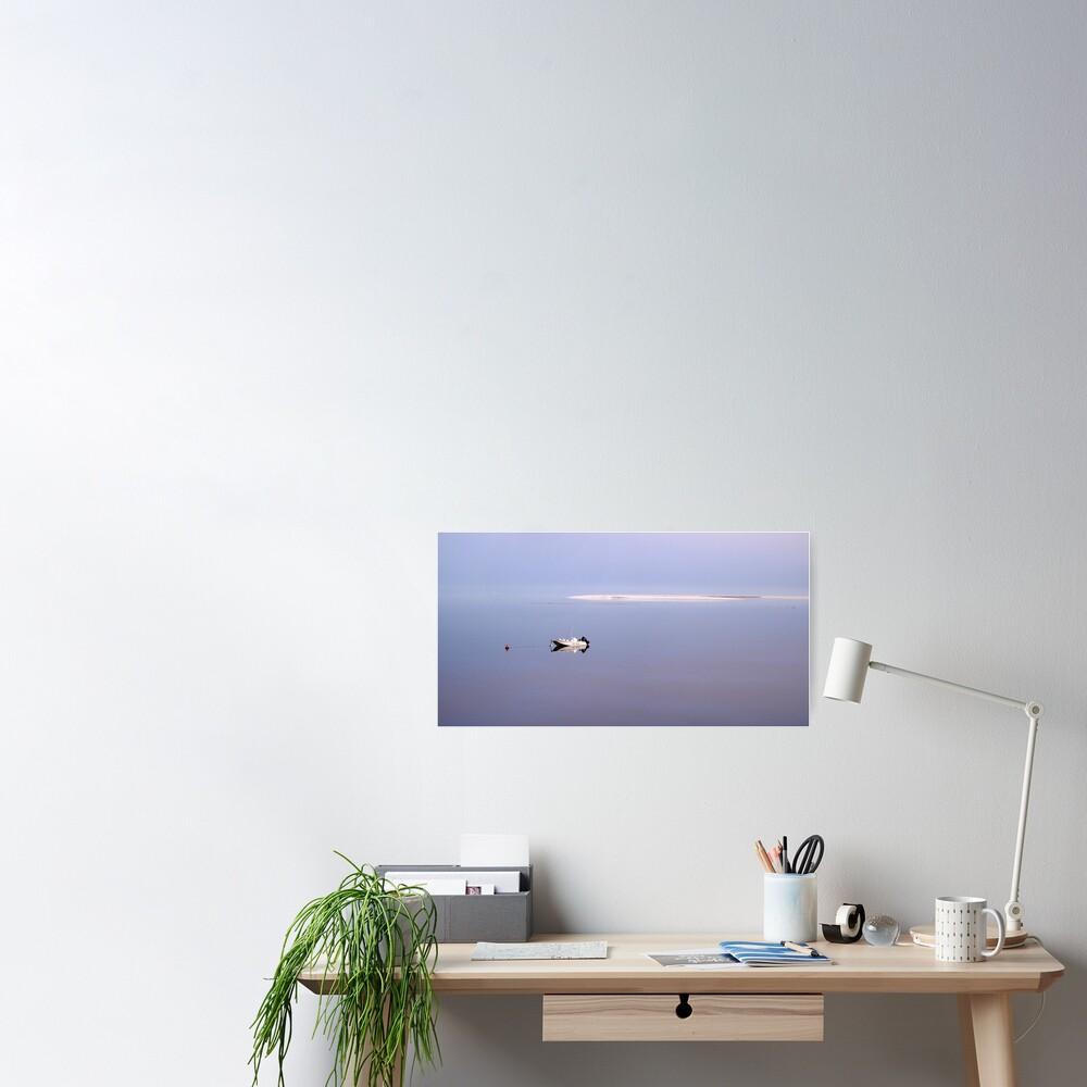 Dawn stillness Poster