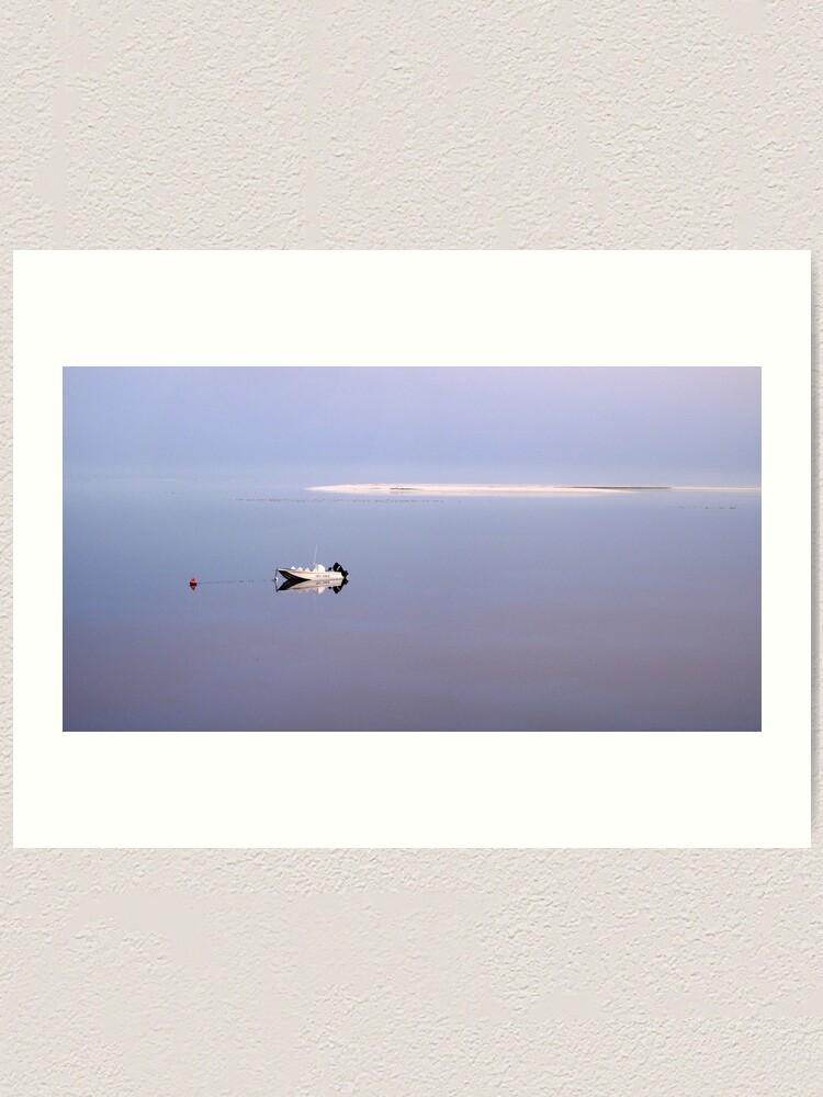 Alternate view of Dawn stillness Art Print