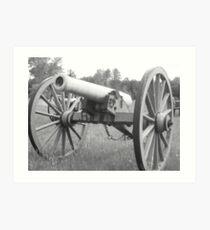 Cannon Art Print
