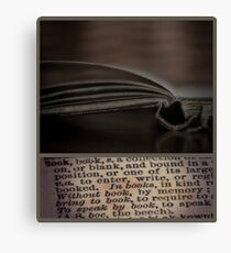 ~book~ Canvas Print