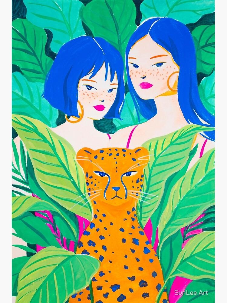 Jungle Friends by sunleeart