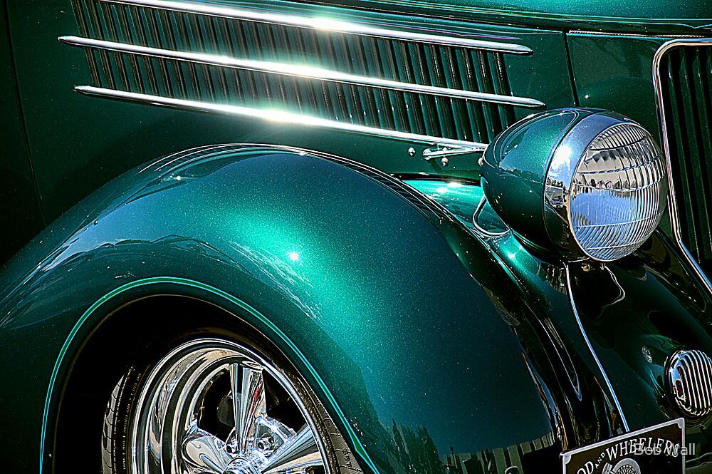 Hot Chrome and Metallic Green by Bob Wall