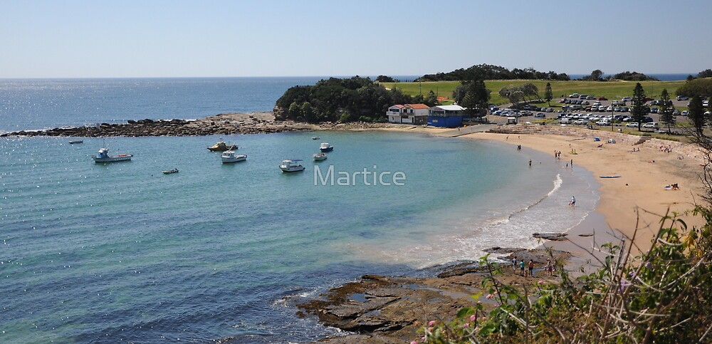 Tranquil Terrigal by Martice