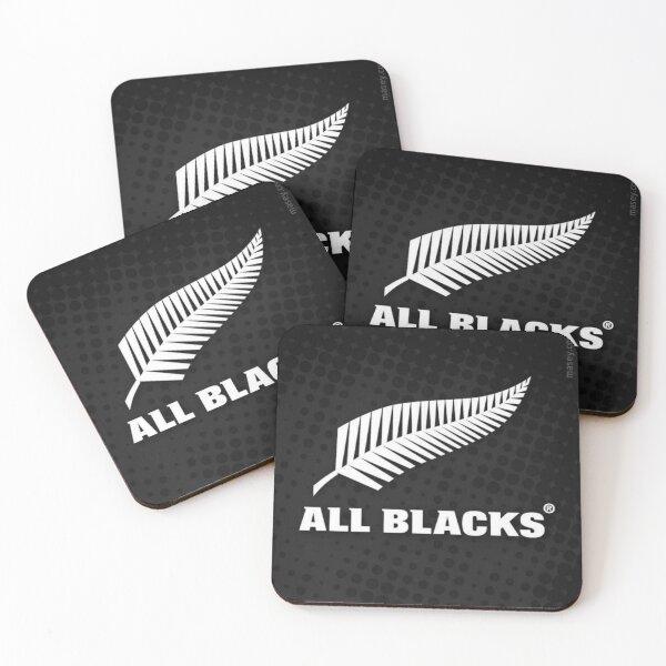 NZ All Blacks Coasters (Set of 4)