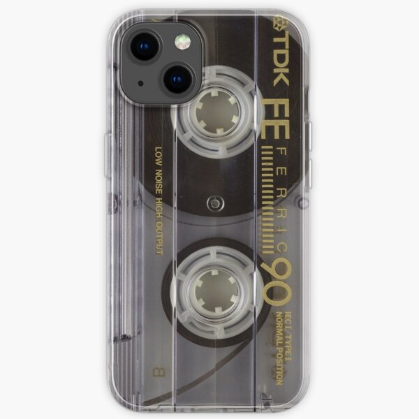 Cassette tape retro - remember those 70s and 80s mixtapes? Cass1 iPhone Soft Case