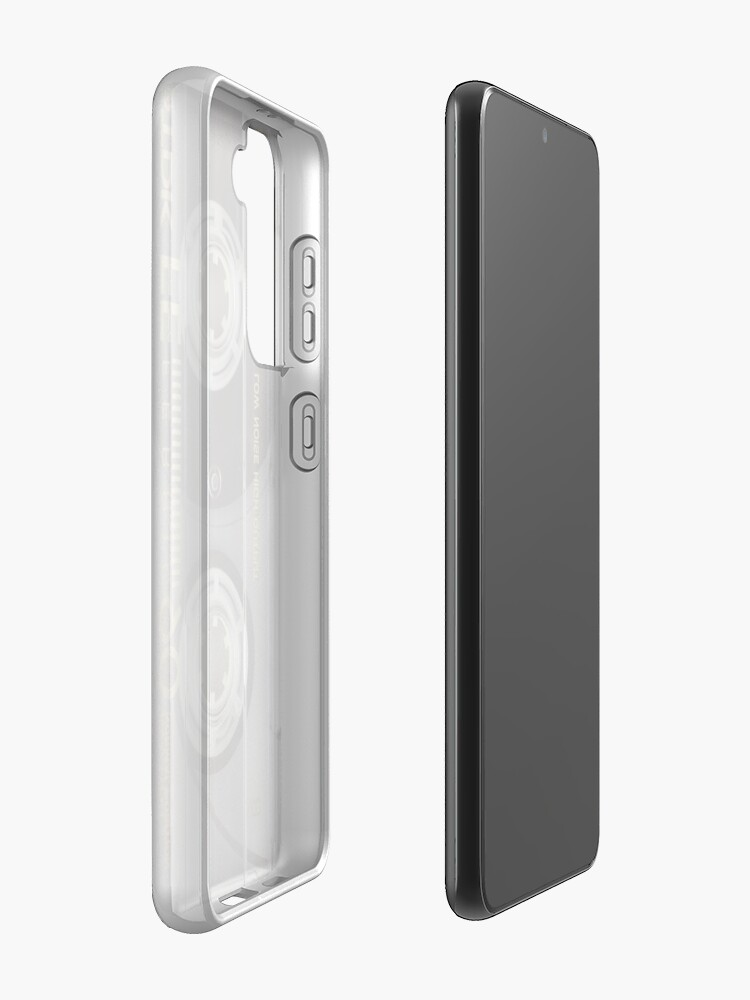 Alternate view of Cassette tape retro - remember those 70s and 80s mixtapes? Cass1 Case & Skin for Samsung Galaxy