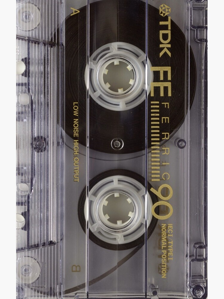 Cassette tape retro - remember those 70s and 80s mixtapes? Cass1 by BigRedDot