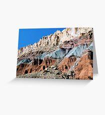 The Waterpocket Fold, Capitol Reef NP, Utah, USA Greeting Card