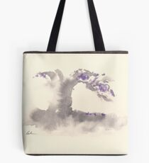 """""""Morning Mist""""   Sumi e wash painting Tote Bag"""