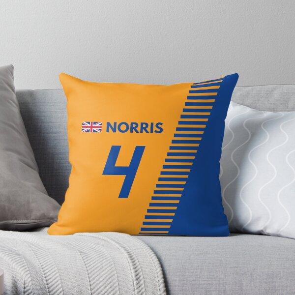 F1 2020 - #4 Norris Throw Pillow